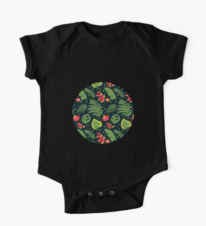 The Tropical Plant One Piece - Short Sleeve