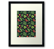 The Tropical Plant Framed Print