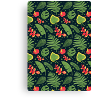 The Tropical Plant Canvas Print
