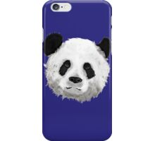 Giant Panda (Blue) iPhone Case/Skin
