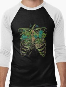 Nature Rib Cage Men's Baseball ¾ T-Shirt