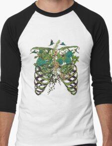 Nature Rib Cage Men's Baseball ¾ T-Shirt