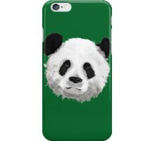 Giant Panda (Green) iPhone Case/Skin