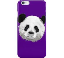Giant Panda (Purple) iPhone Case/Skin