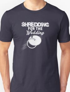 """Shredding for the Wedding"" Fitness Tanktop T-Shirt"