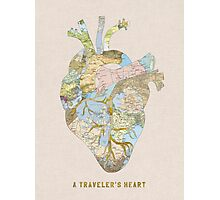 A Traveler's Heart Photographic Print