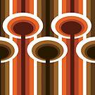 Retro Elements v 2.0 : Chocolate Orange by boudidesign