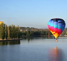 Hot Air Balloon by Christie Harvey