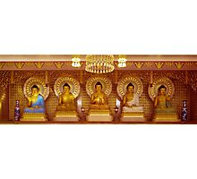 The Five Buddha Photographic Print
