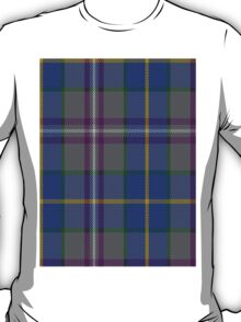 00199 Taobh Dhi Deeside Plaid District Tartan  T-Shirt