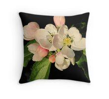 Apple Blossom Throw Pillow