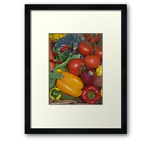Garden Fare Framed Print