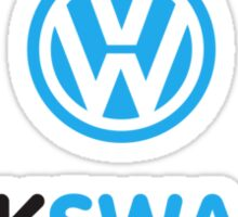volkSWAGen Sticker