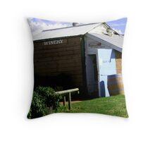 cellar door -rural Throw Pillow