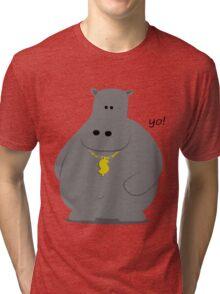 HIP HOP Potamus Tri-blend T-Shirt