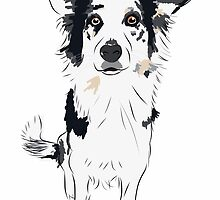 Border Collie Beauty by ELLYCAT