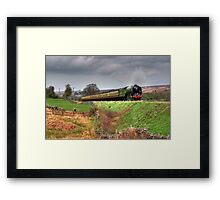 12:10 From Grosmont,North Yorkshire Framed Print