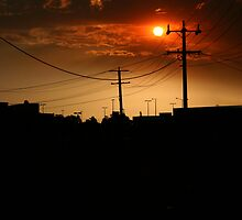 Sunsets on the Northside by boudidesign