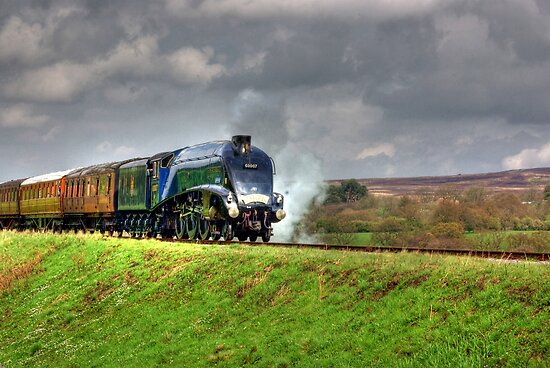 Flying Scotsman by Trevor Kersley