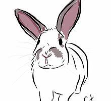 Graphic Art Rabbit 3 by ELLYCAT