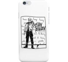 Skinhead Punk // STAY AWAY iPhone Case/Skin