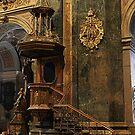 Jesuit Church Pulpit by Elena Skvortsova