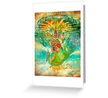 Whirligig Greeting Card