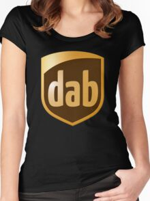 Dab Parcel Service  Women's Fitted Scoop T-Shirt