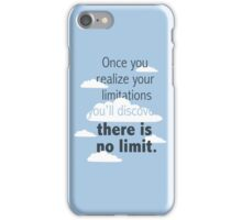 No Limit! iPhone Case/Skin