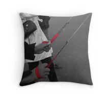 Professional kite flying Throw Pillow
