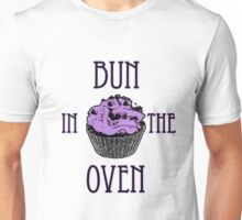 Bun In The Oven - Lilac - Pregnancy Tee T-Shirt