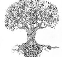 Tree of Life by art-tonic