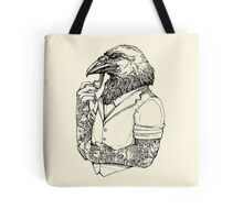 The Crow Man Tote Bag