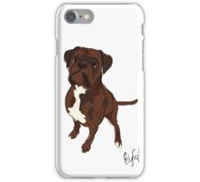 Graphic Art Dog 4 iPhone Case/Skin