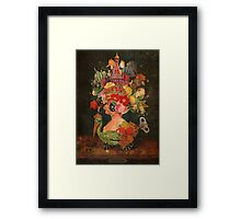 Still Life in Motion Framed Print
