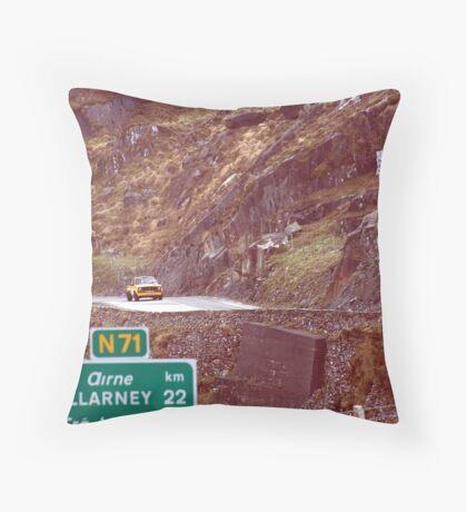 RALLY OF THE LAKES  Throw Pillow