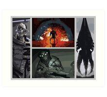 Mass Effect Villains Art Print