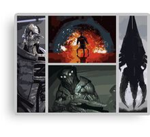 Mass Effect Villains Canvas Print