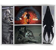 Mass Effect Villains Poster