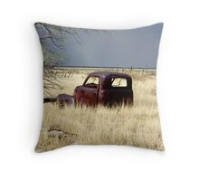 End of the line Throw Pillow