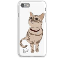 Graphic Art Cat 3 iPhone Case/Skin