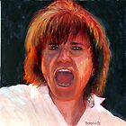 Lawrence Gowan of the Rock Group Styx by bernzweig