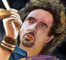 Todd Sucherman of the Rock Group STYX by bernzweig