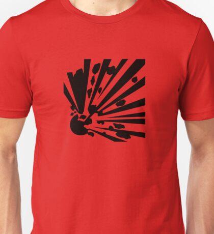 Explosive Warning Sign Unisex T-Shirt