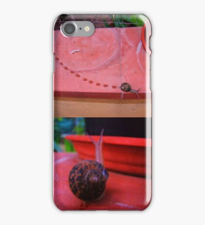 the speed of snail iPhone Case/Skin