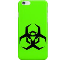 Biohazard Sign Futuristic iPhone Case/Skin