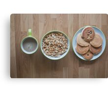 Most Important Meal of the Day Canvas Print