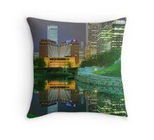 Spring Night-Omaha Throw Pillow