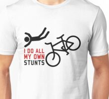 Bicycle I Do All My Own Stunts Unisex T-Shirt