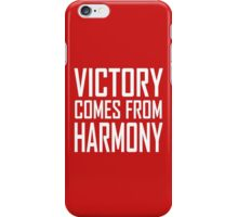 Comes from harmony iPhone Case/Skin